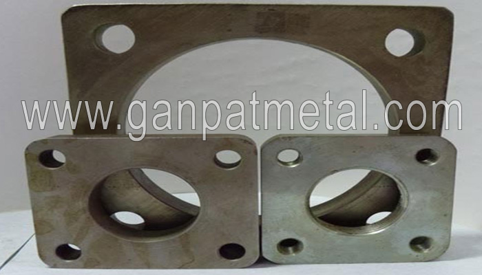 Stainless Steel Square Flanges manufacturers in India| ASTM A105