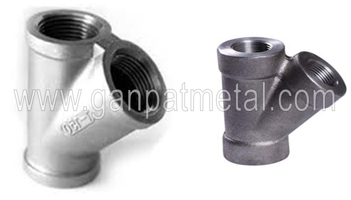 Steel Threaded Lateral Tee Manufacturers In India Astm